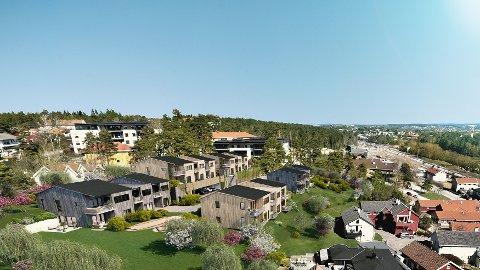 BYGGESTART: I slutten av september er det byggestart for Smedens Hage på Trara.