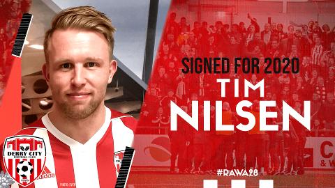 NYTT FOTBALL-EVENTYR: Før jul ble det klart at Tim Nilsen ikke ville få nytt kontraktsforslag i FFK. Nå er han klar for den nord-irske klubben Derry City.