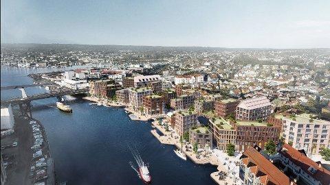 Prosjektet på Trosvikstranda utgjør en helt ny og sentral bydel i Fredrikstad.  Kommunen er stor grunneier på området, og utvikler det i samarbeid med  privateide Cityplan.