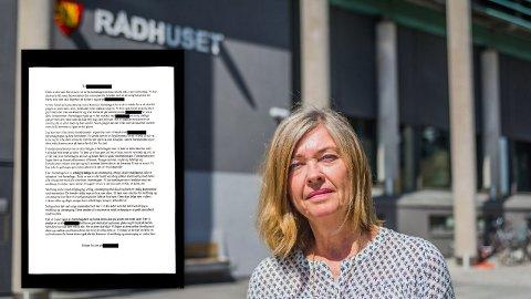 – Det er ikke greit å sende et slikt brev til foreldrene. Det kan forårsake mer skade enn nytte., sier etatsjef Gøril Pedersen Bjerknes i Fredrikstad kommune.