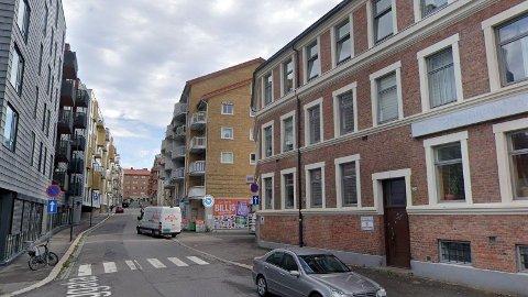 Gøteborggata 27B oser ikke av luksus fra utsiden. Innenfor veggene derimot ... Foto: (Google Street view)