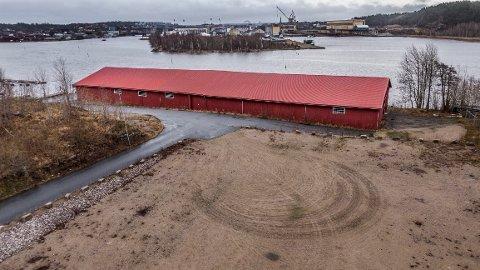 Sleipner fikk ja til å rive trelastlageret på Bruket på Gressvik hvis de 3D-skannet bygget for å dokumentere det. Det har de nærmeste naboene klaget på.