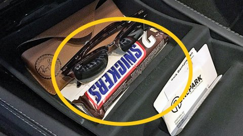 Har du også en sjokolade liggende i bilen? Det kan komme til å koste deg dyrt …