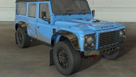 Sjekk de seks bokstavene på panseret: Land Rover Defender kommer tilbake, nå som Bowler.