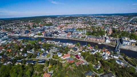 I Fredrikstad/Sarpsborg har boligprisene økt med 7,9 prosent det siste året og er nå gjennomsnittlig på 33.634 kroner per kvadratmeter.