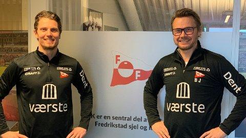 Etter opprykket til OBOS-ligaen, har det blitt enda mer attraktiv å jobbe sammen med Joacim Heier og Bjørn Johansen.