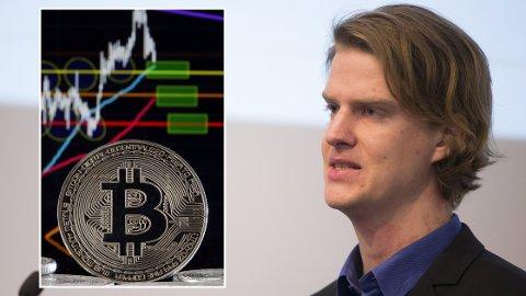 KRYPTOBOOM: Torbjørn Bull Jenssen er en av landets fremste eksperter på bitcoin. Han spår ellevill prisøkning.