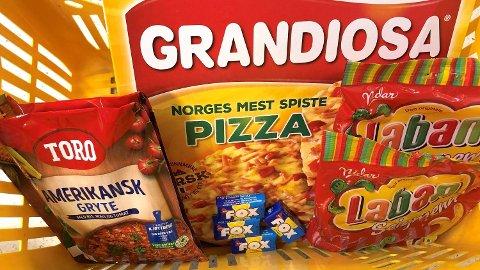 OPP I PRIS: Flere av matvarene i ukens handlekurv har blitt mye dyrere sammenlignet med fjoråret. Foto: Nina Lorvik (Mediehuset Nettavisen)