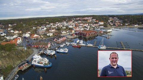 Hvaler kommune, her ved kultursjef Thomas Holmen Olsen, koordinerer nå det frivillige engasjementet i øykommunen.