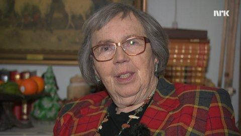 Anne Marie Liljebjelke (90 på lørdag) håper å se gode venner og bekjente på Kjøkøy på dagen sin.