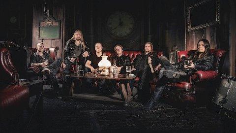 NYTT ALBUM: Course of Fate slipper denne uken sitt første album, «Mindweaver». F.v.: Carl Marius Saugstad, Kenneth Henriksen, Daniel Nygaard, Per-Morten Bergseth, Marcus Lorentzen og Eivind Gunnesen.
