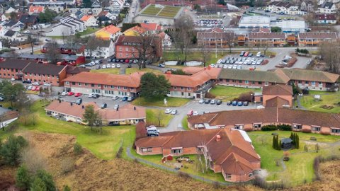 SMITTET: En beboer ved Glemmen sykehjem er smittet av korona, og er så satt i karantene. Det samme er resten av beboerne ved avdelingen.