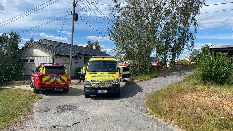 Brannvesenet rykket ut til en boligbrann i Torsnes torsdag ettermiddag.