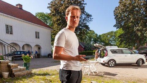 FILMDEBUT: 11. juli kan Petter Grindahl endelig få vise sin kortfilm på kino på hjemmebane.