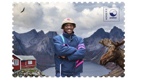 NORGESFERIE: Safari Shabani skal dokumentere årets sommerferie via sosiale medier. Han har lenge drømt om å oppleve norsk natur.