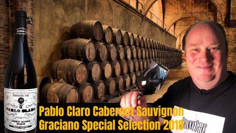 GRILLVIN: Cato Larsen anbefaler Pablo Claro Cabernet Sauvignon Graciano Special Selection 2018 som årets grillvin.