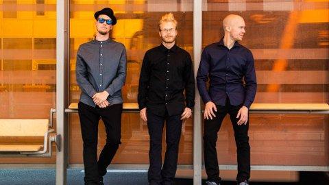Trio: Impro-rap-gruppa Stor Overraskelse består av Skranglebein, Nils m/Skils og beatboxer Droolian.
