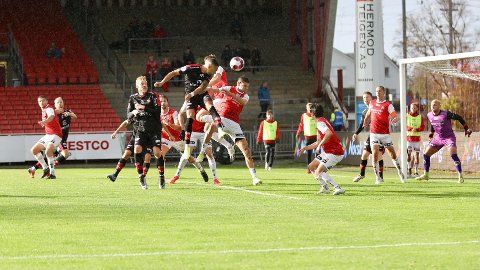 FFK kjempet seg til tre poeng mot Bryne lørdag.