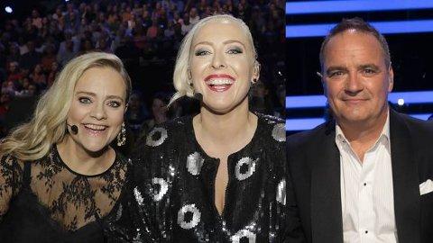 Kveldens dommerpanel består av Henriette Steenstrup (t.v.), Mona B. Riise og Odd René Andersen.