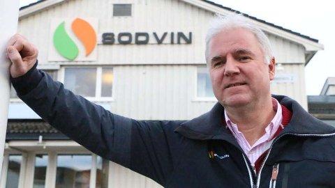 Konsernsjef Fartein Kjørsvik i Sodvin SA har kjøpt opp teknologiselskapet E2U i Fredrikstad. Tirsdag hadde han og fem andre bedriftsledere møte med statsministeren.