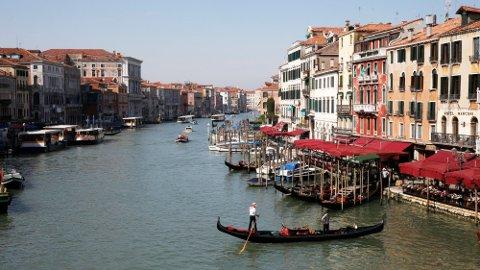 KAN BLI REALITET: Det nye kortet kan sikre reise i EU, som hit til Venezia.