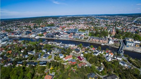 FULL FART: Boligprisene i Norge har gått fullstendig i taket.