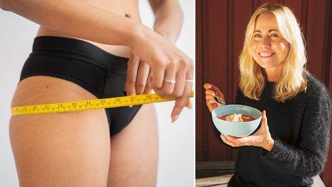 Dette er knepene ernæringsfysiologen gir til folk som sliter med å gå ned i vekt.