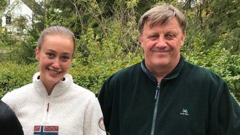 Nora Wold sørger over faren Jens Petter Wold som lørdag døde.
