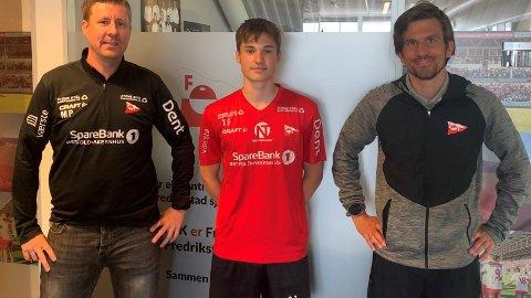 Magnus Pettersen (til venstre), Imre Bech Hermansen og Magnus Meling