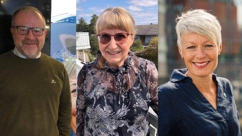 Martin Engeset (57, H), Vigdis Giltun (69, Frp) og Line Henriette Holten (49, KrF) har til sammen 28 år bak seg som stortingsrepresentanter. Her gir de sine råd til dem som ender som ferske stortingsrepresentanter etter valget i høst.