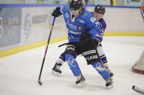 NY KAMO: Johan Ceder og Arcic Eagles jakter nye poeng mot Haugesund. Arkivfoto: Kjell G Karlsen