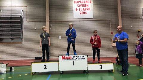 Nikolai Barth tok gull i bryteåpningen i Haparanda.