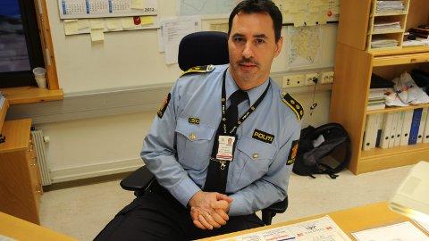 Politistasjonssjef Egil Sletteng leder Ofoten politistasjonsdistrikt - og får nå også ansvaret for Gratangen.