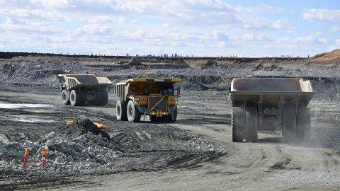 KAN BLI STOPP: Om Naturvårdsverket får viljen sin, blir det stopp for gruvedriften i Kaunisvaara. Det vil ramme flere hundre arbeidsplasser i Pajala - og noen titalls i Narvik.
