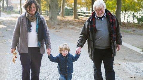 Vi blir stadig eldre her i landet. En gutt som fødes i år, kan regne med å bli nesten 81 år gammel. Foto: Jan Haas, NTB scanpix/ANB