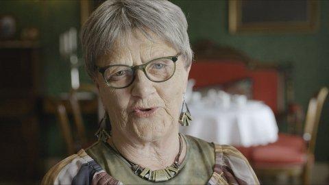 Vil takke: Grete Haagenrud fikk hjelp under andre verdenskrig i Narvik av familien Vik. Grete er en av de som deler sin historie i filmen «Brennende minner», og ønsker å takke sine hjelpere.