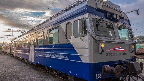 UNIKT: Arctic Train gir løfter om en helt unik opplevelse – når det kommer på skinnene. SJs nordlystog er, ifølge selskapet, ikke en konkurrent til det de skal holde på med.