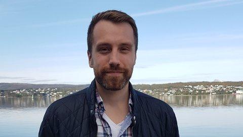 NY JOBB: Håkon Storeng fra Narvik er ny daglig leder for Arctic Filet på Senja.