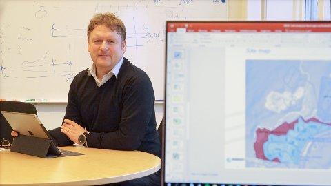 FINALIST? Jon Ingebrigtsen tror Narvik, med sin tilgang på grønn kraft og god plass, ligger godt an i konkurransen om å få en bilbatterifabrikk.