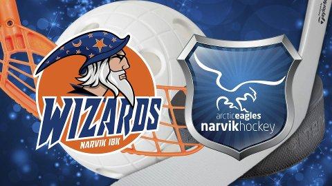 Torsdag kveld går den store køllekampen - getligklare Narvik Ishockeyklubb møter innebandygutta til presteisjeoppgjør i Idrettens Hus. Publikum får gratis inngang.