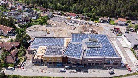 Vestsiden nye ungdomsskole i Kongsberg.