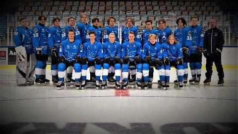 REKRUTTENE: Narvik hockey møter Tromsø til tre kamper i allnorsk U18-serie i helgen.