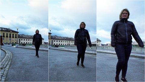 GÅ MER: Det er målet til Marianne Dobak Kvensjø og Narvik kommune nå som de er med i prosjektet «Walkmore».