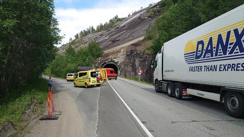ULYKKE: Bård Trolid fra Meyership unngikk ulykken i tunnelen, men sier folk kjører som gale.