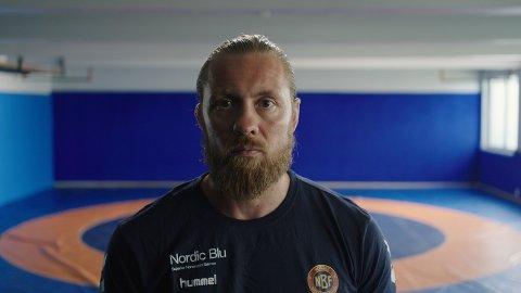 PÅ SKJERMEN: Fritz Aanes, narviking og trener for det norske brytelandslaget.