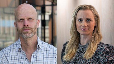 INVESTRINGSTIPS: Forbrukerøkonomene Hallgeir Kvadsheim og Silje Sandmæl har hver sin strategi når det kommer til egen økonomi og investering.