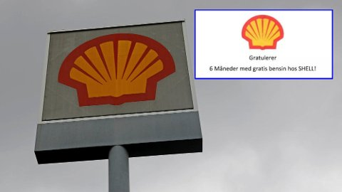 SVINDEL: Falske e-poster har gitt hodebry for Shell. Nå advarer de folk som har mottatt mailen der det lokkes med gratis bensin og diesel.