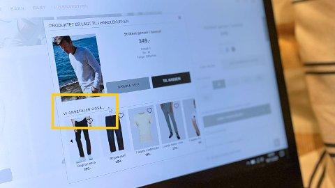 EFFEKTIVE VIRKEMIDLER: Nettbutikkene bruker flere ulike virkemidler for 책 trigge deg til 책 handle mest mulig hos dem. Illustrasjonsfoto.