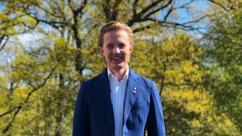 POLITIKER: Anders-Oliver Juvodden har nå fått fast plass i kommunestyret.