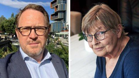 STORE FORSKJELLER: Christian Kahrs og Elisabeth Laila Sævik bor begge i en enebolig, men Sævik betaler langt mindre for strømmen.